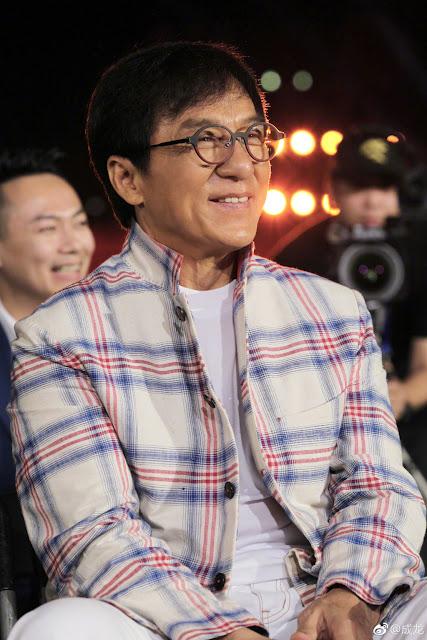 Jackie Chan escape mudslide