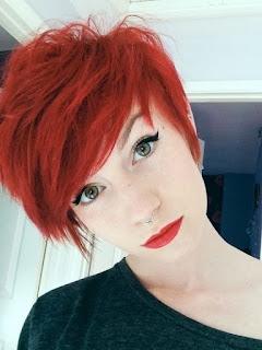 cortes cortos pixie rojos caras redondas 2017