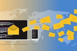 Cara mengirim Pesan lewat Email Yahoo dan Gmail menggunakan HP