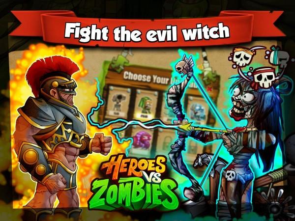 Heroes Vs Zombies v15.0.0 Mod APK-screenshot-1
