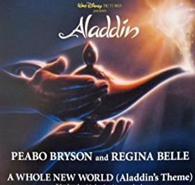 Lirik Lagu A Whole New World - Peabo Bryson & Regina Belle version Aladdin (Disney) Asli dan Lengkap Free Lyrics Song