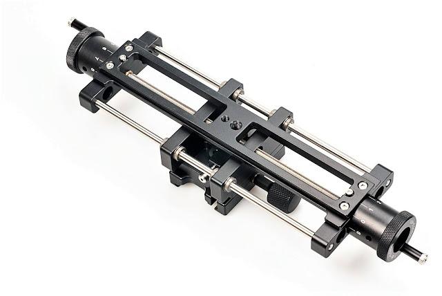 Hejnar MS5P-10-KS Linear Motion stage bottom Rail dovetail detail