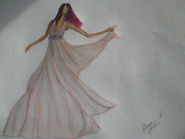 #fashionillustration #pink #iltraviolet