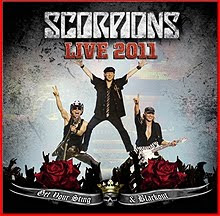 Sale a la venta por fin Scorpions Live 2011 In 3D Get Your Sting & Blackout