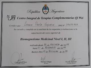 Certificado-Biomagnetismo-Lorena-Paola-Capodici-Espiral-Azul