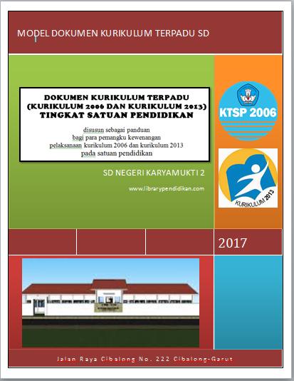 Download Dokumen 1 Kurikulum 2013 Sd : download, dokumen, kurikulum, Download, Model, Dokumen, Terpadu, Kurikulum, 2006/KTSP, Dengan, Tingkat, Library, Pendidikan