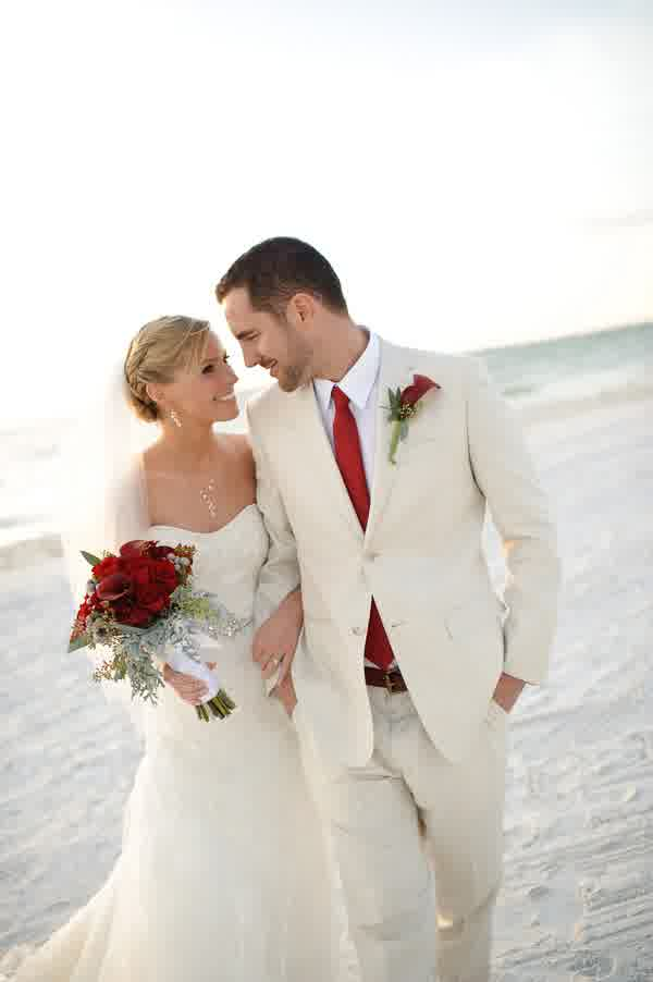 Unveiled Beach Groom\'s Wedding Attire 2016 | bridal and wedding trend