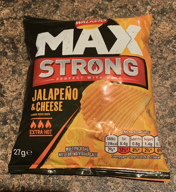 Walkers Max Jalapeño & Cheese