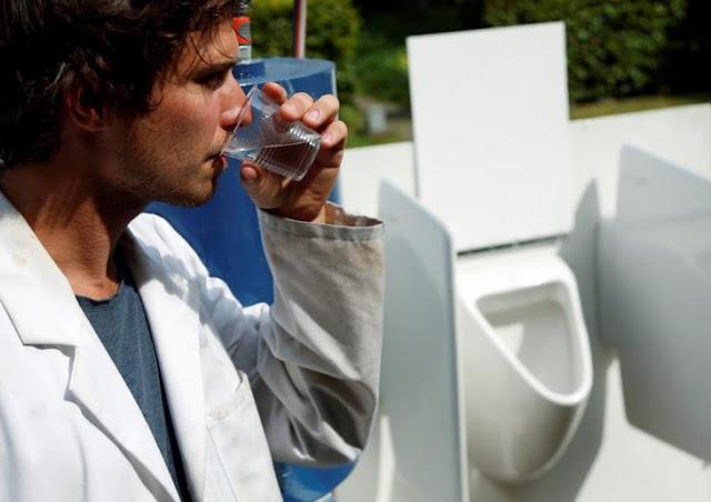 Cerveza de orina: maquina de energía solar filtra desechos