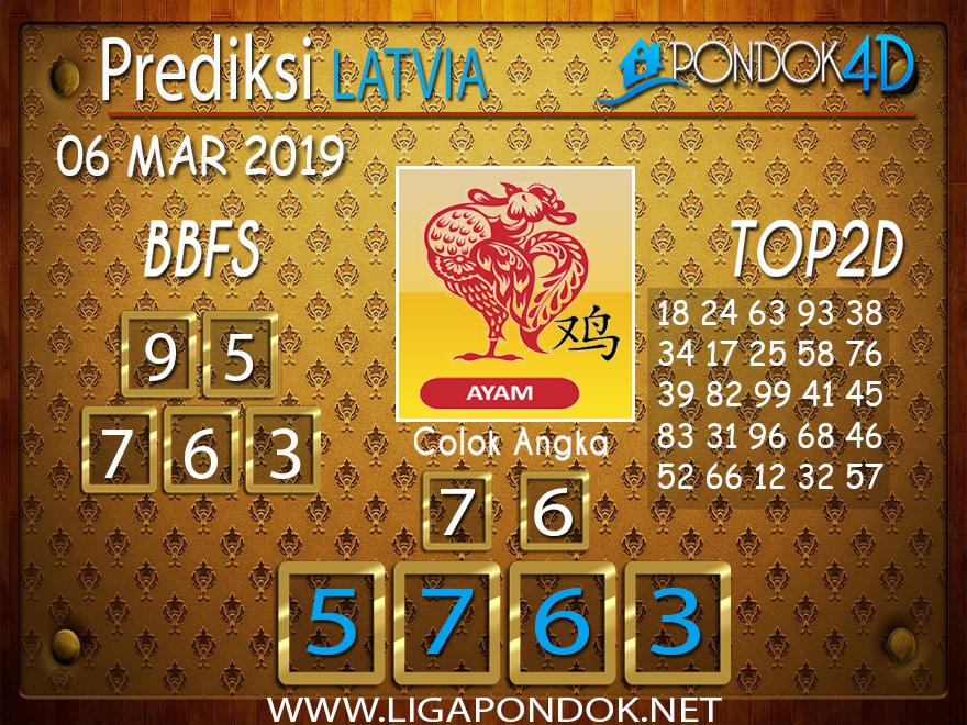 Prediksi Togel LATVIA PONDOK4D 06 MARET 2019
