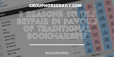 3 Reasons to Use Betfair in Favour of Traditional Bookmakers?