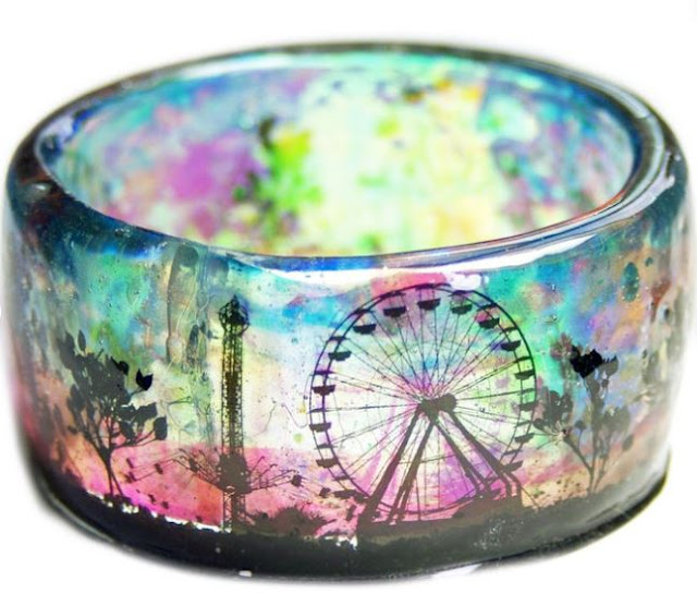 Welcome to Whimsy: Resin jewelry by Modern Flower Child