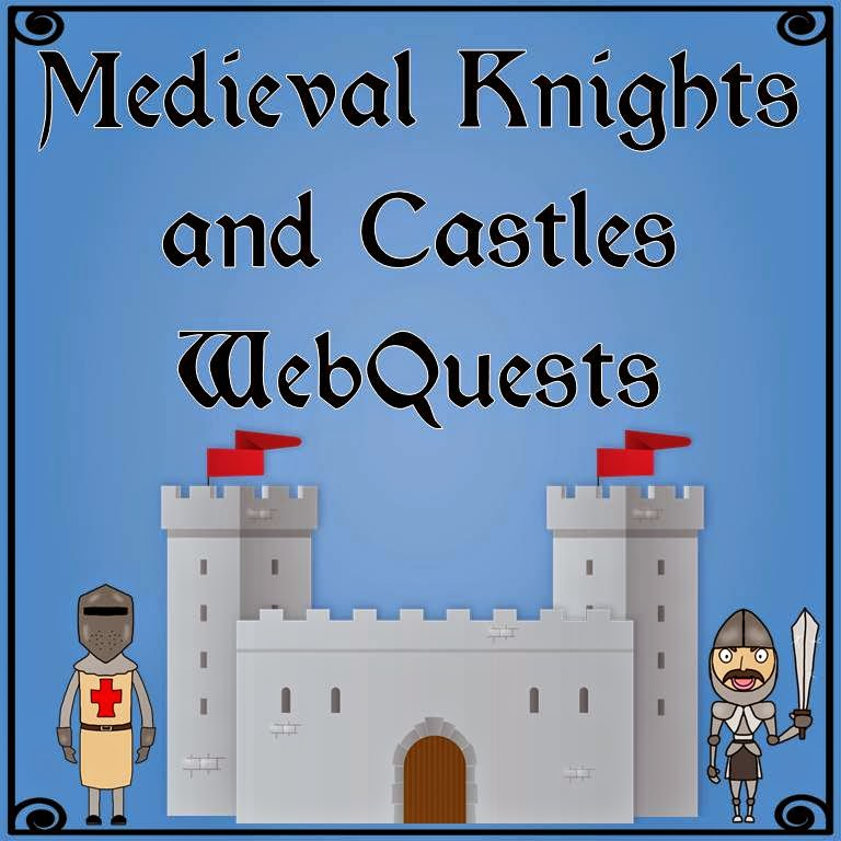 https://www.teacherspayteachers.com/Product/Medieval-Knights-Warfare-and-Castles-WebQuests-983377