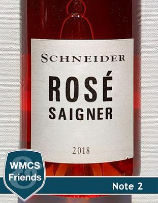 Markus Schneider Rosé Saigner trocken Pfalz 2018