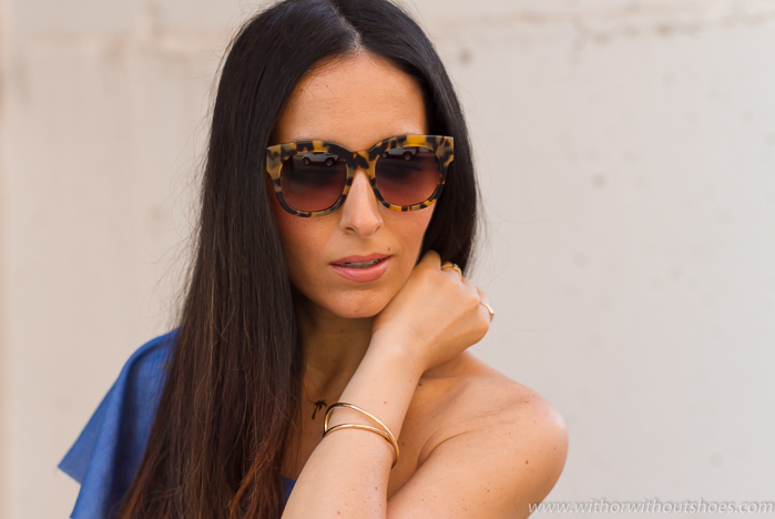 Tendencias Gafas de sol de diseño de moda con print animal