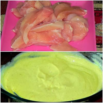 receita de frango com mostarda