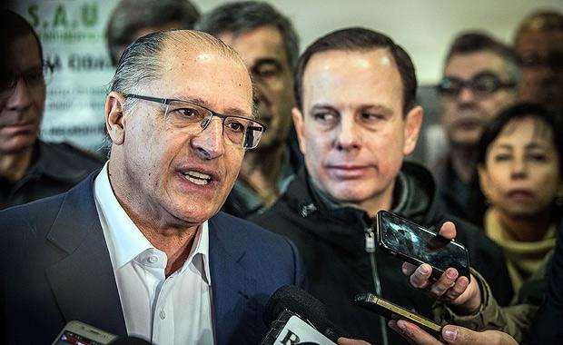 Alckmin pode dar uma rasteira em Doria?
