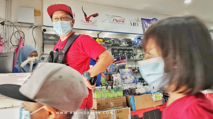 HOLIDAY LANGKAWI PART 3 :  DAY 1 SHOPPING BARANG PANCING DI TCE TACKLE LANGKAWI
