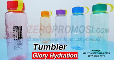 Souvenir Promosi Botol Minum Glory Hydration, Jual Botol Minum, Souvenir Tumbler Glory
