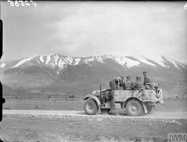 21 April 1941 worldwartwo.filminspector.com British truck Greece