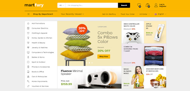 Martfury WordPress Online Store Theme Download