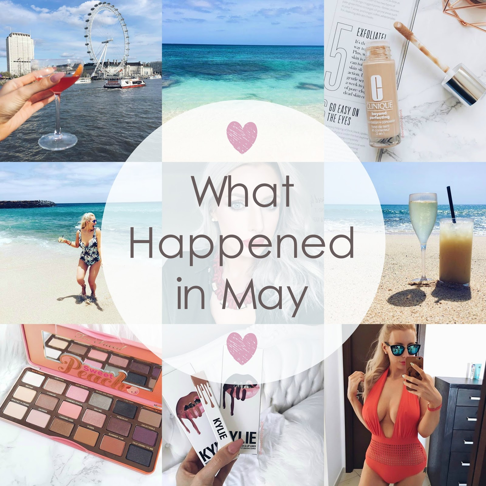what happened in May, devoted to pink, lifestyle blogger