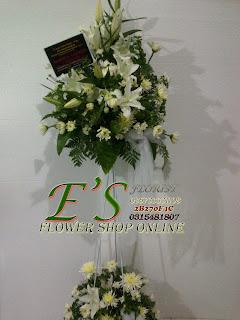 standing flower duka cita lily
