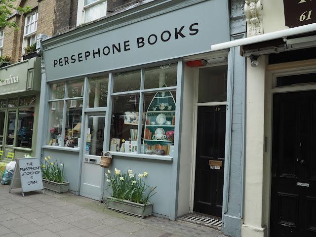 Persephone Books--London