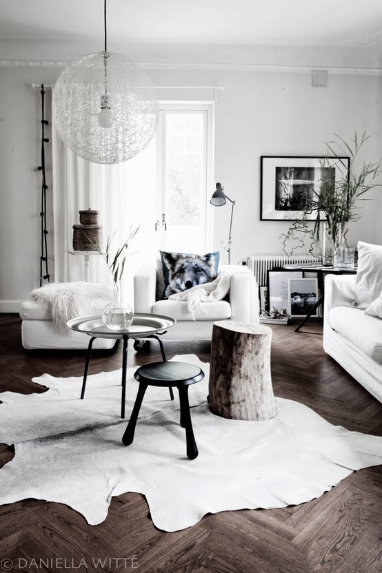 White neutral interior design