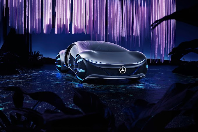 Mercedes Benz unveils Vision AVTR Concept Car