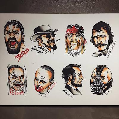 paginas de tatuajes personajes