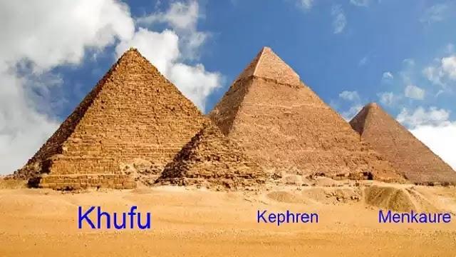 The Three Great Pyramids of Giza