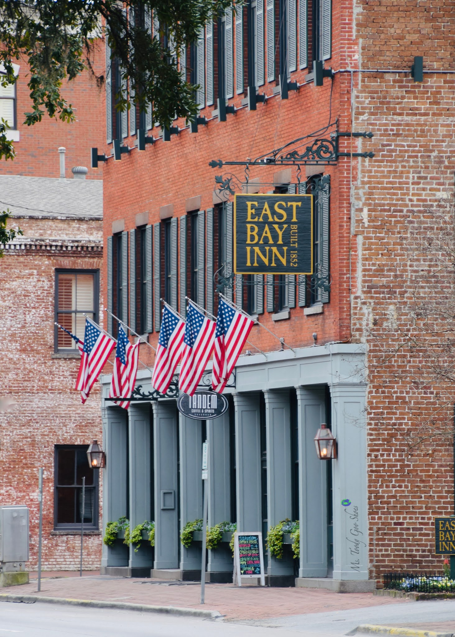 American Flags, Savannah, GA | Ms. Toody Goo Shoes
