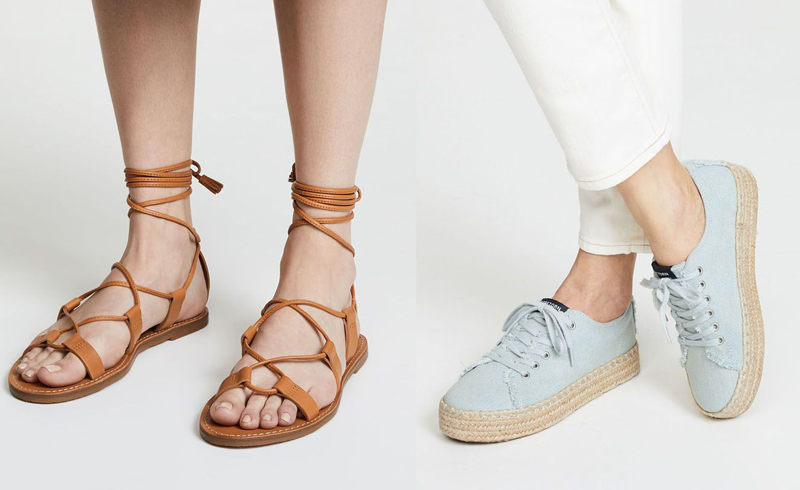 We Can't Stop Thinking about This Summer's Hottest Shoe Trends