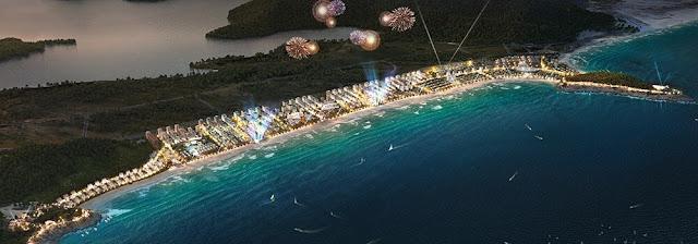 Phối cảnh dự án Wonder City Vân Phong Bay.