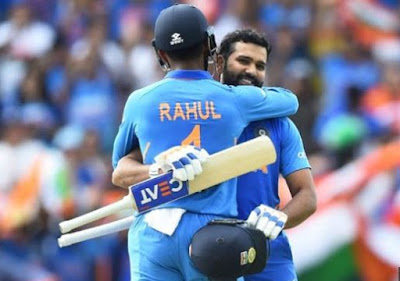 ICC CWC 2019: Rohit-Rahul scored a century, India to beat Sri Lanka by 7 wickets newstracker