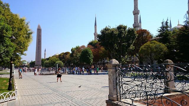 Praça do Hipódromo em Istambul na Turquia