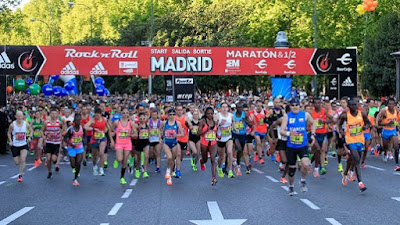 Rock and Roll Madrid Marathon 2017