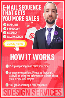 Powerful and amazing e-mail sequence that sells like crazy - E-mail marketing & Cold Outreach