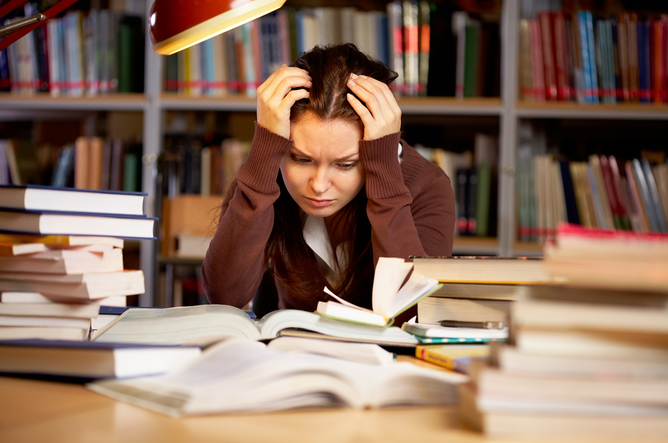 Problems faced by adults reentering college