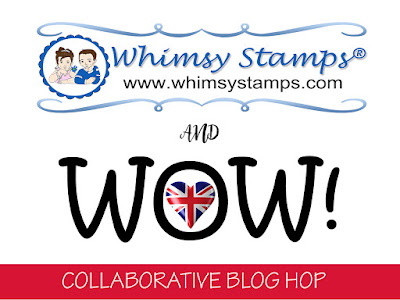 Whimsy Stamps & WOW! Blog Hop Winner