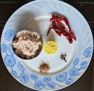 Limbachi Kadhi / Lemon Curry