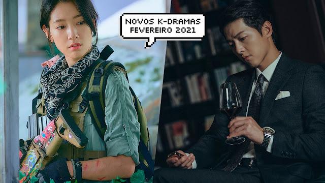 Conheça os dramas coreanos que estreiam em fevereiro de 2021