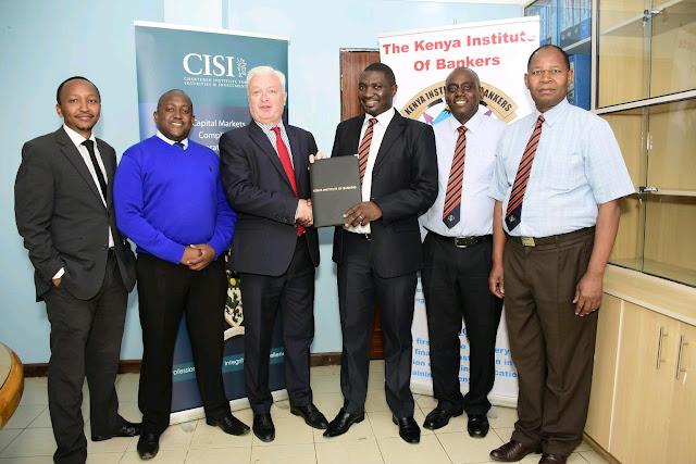 KIB ,CISI partner To Offer Bankers Skills