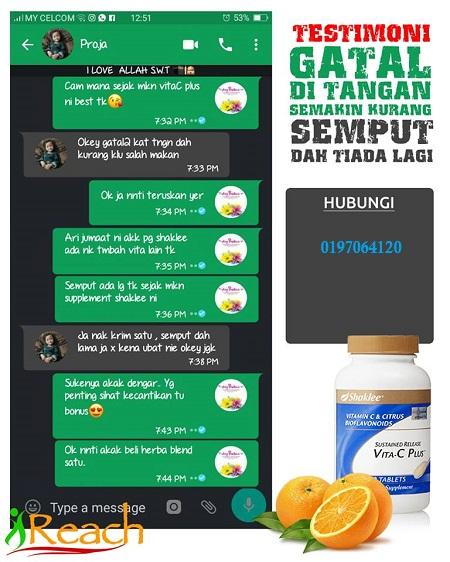 fungsi dan kebaikkan vitamin c shaklee