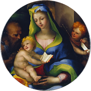 Beccafumi's Madonna with Child, St Jerome and the Infant St John is notable for its almost luminous colours