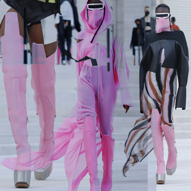 Rick Owens Spring Summer 2021 by RUNWAY MAGAZINE