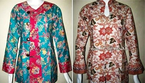 ッ 20+ model baju batik wanita gemuk modis untuk kerja terbaru e055e42e71