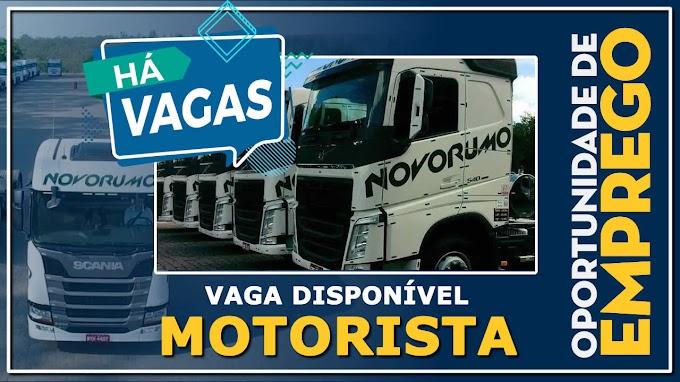 Novo Rumo Transportes abre vagas para Motorista