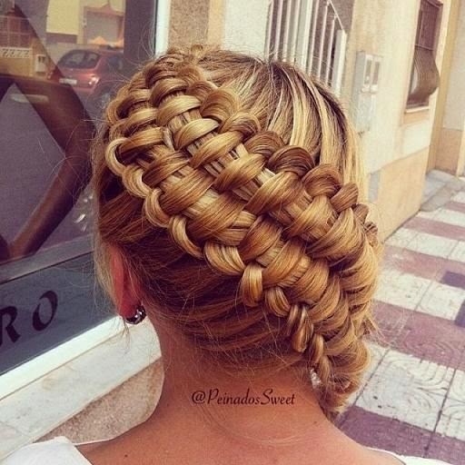 Zipper Braid Updo Images And Video Tutorials The
